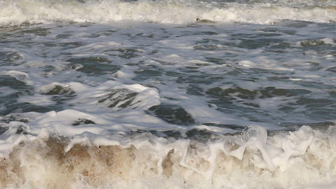 A gentle wave of the sea Footage