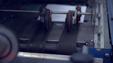 equipment on printing house GIF