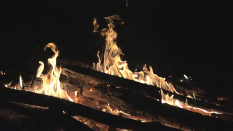 Burning fire, flames Footage