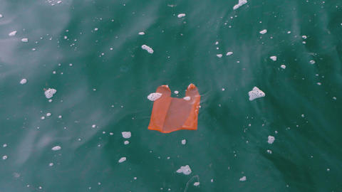 Sea Pollution - Plastic Bags Live Action
