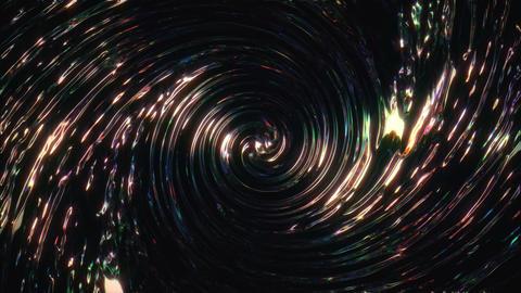 Shiny Twisted Flow VJ Loop Stock Video Footage