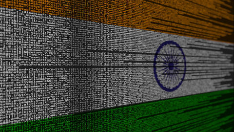 Program code and flag of India Live Action
