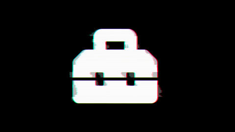 From the Glitch effect arises toolbox symbol. Then the TV turns off. Alpha channel Premultiplied - Animation