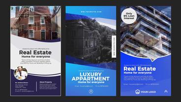 Real Estate Instagram Stories Plantilla de After Effects