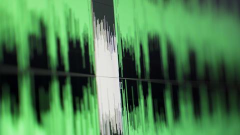 Audio Editing Timeline Stock Video Footage