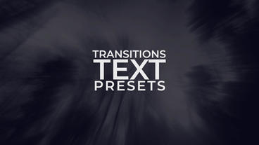New Text Animations Presets Pack 0