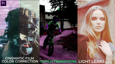 Light Leaks & Transitions Presets Pack 1