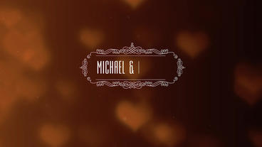 8 Wedding Titles Template After Effect