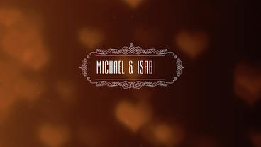 8 Wedding Titles After Effects Template