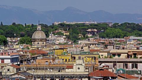 High angle shot of Rome Footage