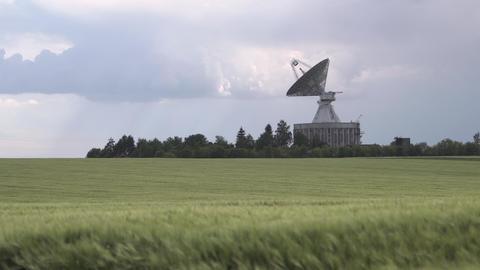 Observatory Antenna Center Live Action