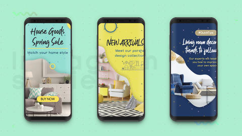 Instagram Stories: Product Promotion After Effects Template