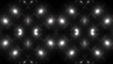 Old Lamp Lights Patterns Animation