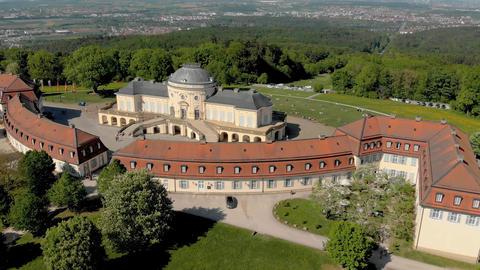 Aerial Schloss Solitude Live Action