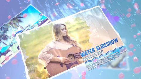 Water Slideshow V1 After Effects Template