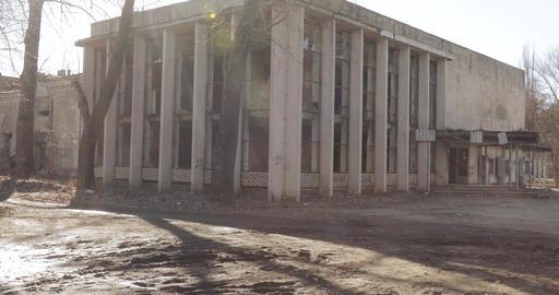 Emergency cinema building Footage