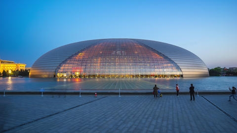 National Centre for the Performing Arts in Beijing, China Live Action