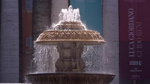 Basilicia Fountain Footage