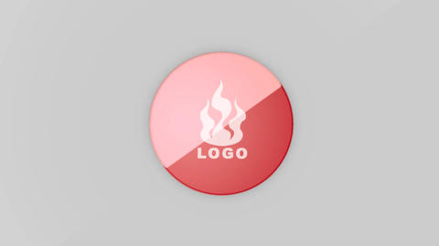 Glossy Logo After Effects Template