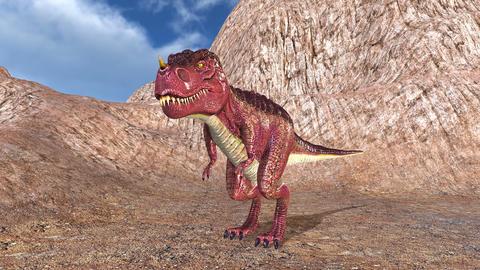 Tyrannosaurus 4K stock footage