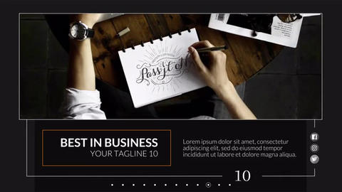 Business Smooth - Slideshow Premiere Pro Template