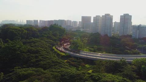 Singapore transport interchange Live Action