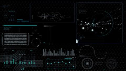 Hud infographics HiTech digital elements v5 - 2