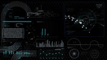 Hud infographics HiTech digital elements v5 - 3