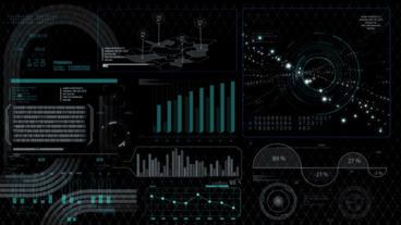 Hud infographics HiTech digital elements v5 - 8