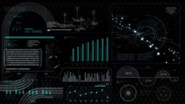 Hud infographics HiTech digital elements v5 - 9