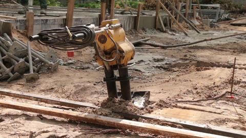 Soil Compactor Machine Live Action