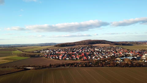 Village bennigsen in lower saxony, germany near hannover Footage