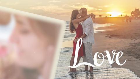 Romantic elegant brush slideshow (AE template) Plantilla de After Effects