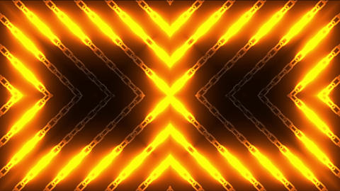 Hot Chain Lights Loop CG動画