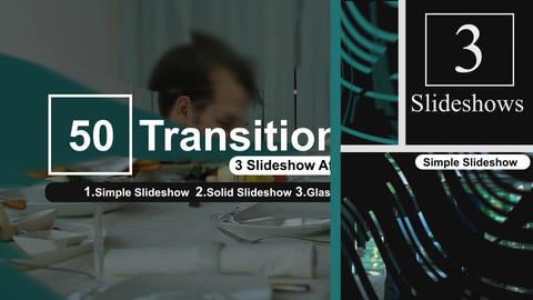 50 Transitions Pack -78 After Effects Template