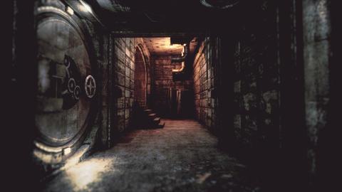 4K Atom Bunker Corridor Cinematic 3D Animation Animation