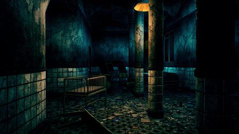4K Horror Asylum Cinematic 3D Animation Animation