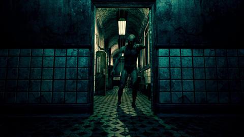 4K Walking Dead in Freaky Sanitarium Corridor Cinematic 3D Animation Animation