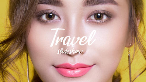 Travel Slideshow Premiere Pro Template
