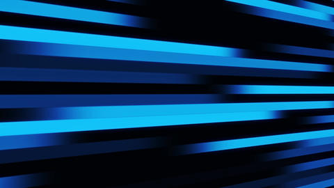 Blue Digital Lines VJ Loop Abstract Motion Background Stock Video Footage