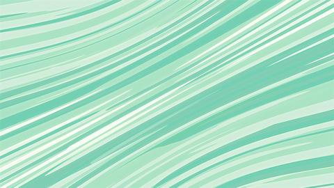 Anime Green Diagonal Motion Lines Animation
