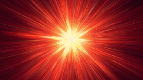 Red Shining Tunnel Background Stock Video Footage
