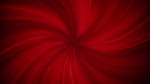 Red Twirling Speed Lines Background Animation