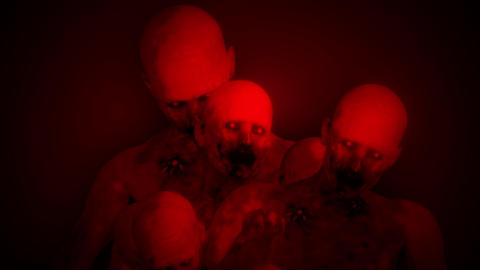 Zombies Surrealistic Concept 3 Animation