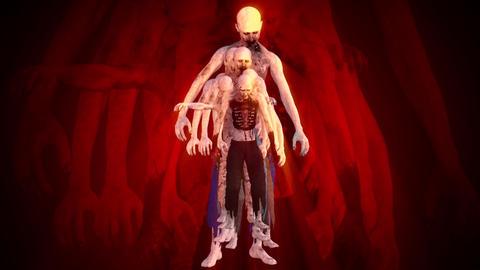 Zombies Surrealistic Concept 1 Animation