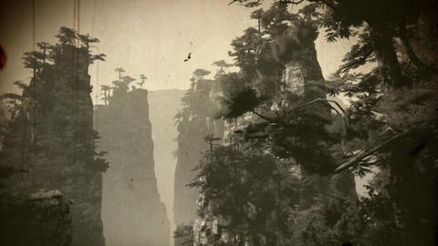 [alt video] 4K Cinematic Fairy Tale Fantasy Oriental Mountains Vintage