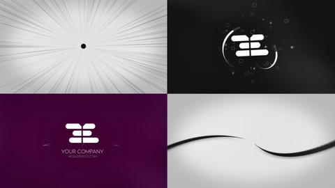 Simple Logo Reveals Premiere Proテンプレート