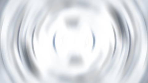 Rippling circle in white and black colored water Animation