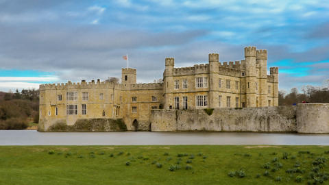 Time-lapse of historical Leeds Castle Footage