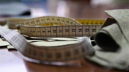 metric seamstress tape measure Footage